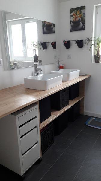 Concept int rieur peinture d 39 int rieur et r novation de - Meuble salle de bain fait maison ...